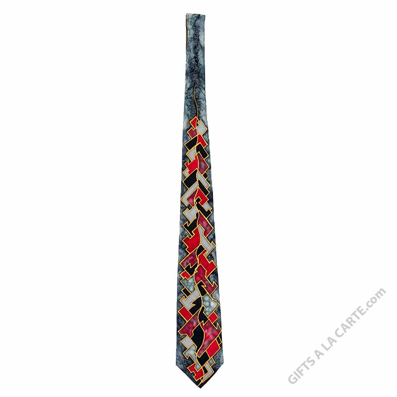 Handpainted Tie