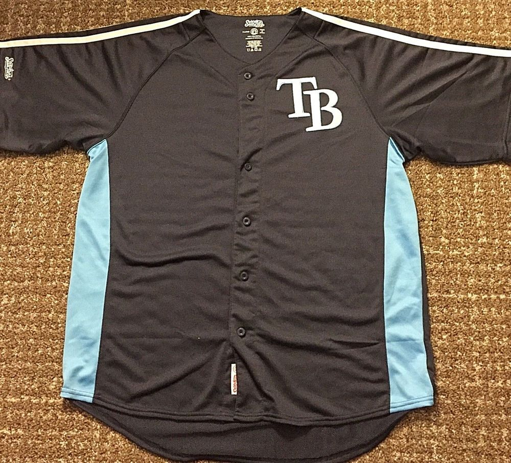 fac53a2db Tampa Bay Rays Baseball Jersey - Authentic MLB Merchandise - Stitches -  Adult XL   10.99 (0 Bids) End Date  Friday Oct-26-2018 17 00 49 PDT…