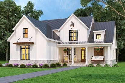 Modern Farmhouse House Plan 9401