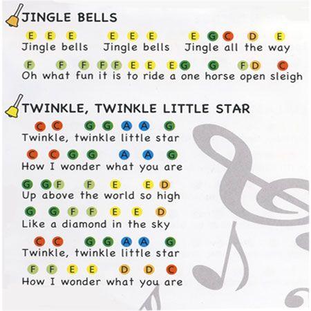 Musical Hand Bells Met Afbeeldingen Muziek Les Muziek