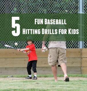 5 Fun Baseball Hitting Drills For Youth Ourteamapp Youth Sports Baseball Hitting Drills Baseball Hitting Baseball Training