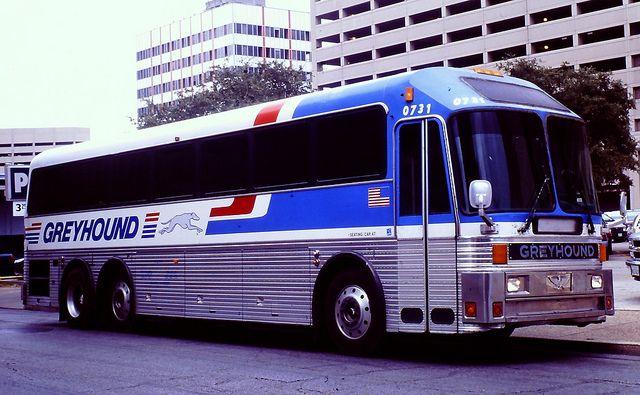 Greyhound Bus 0731 Eagle Model 15 Greyhound Bus Bus
