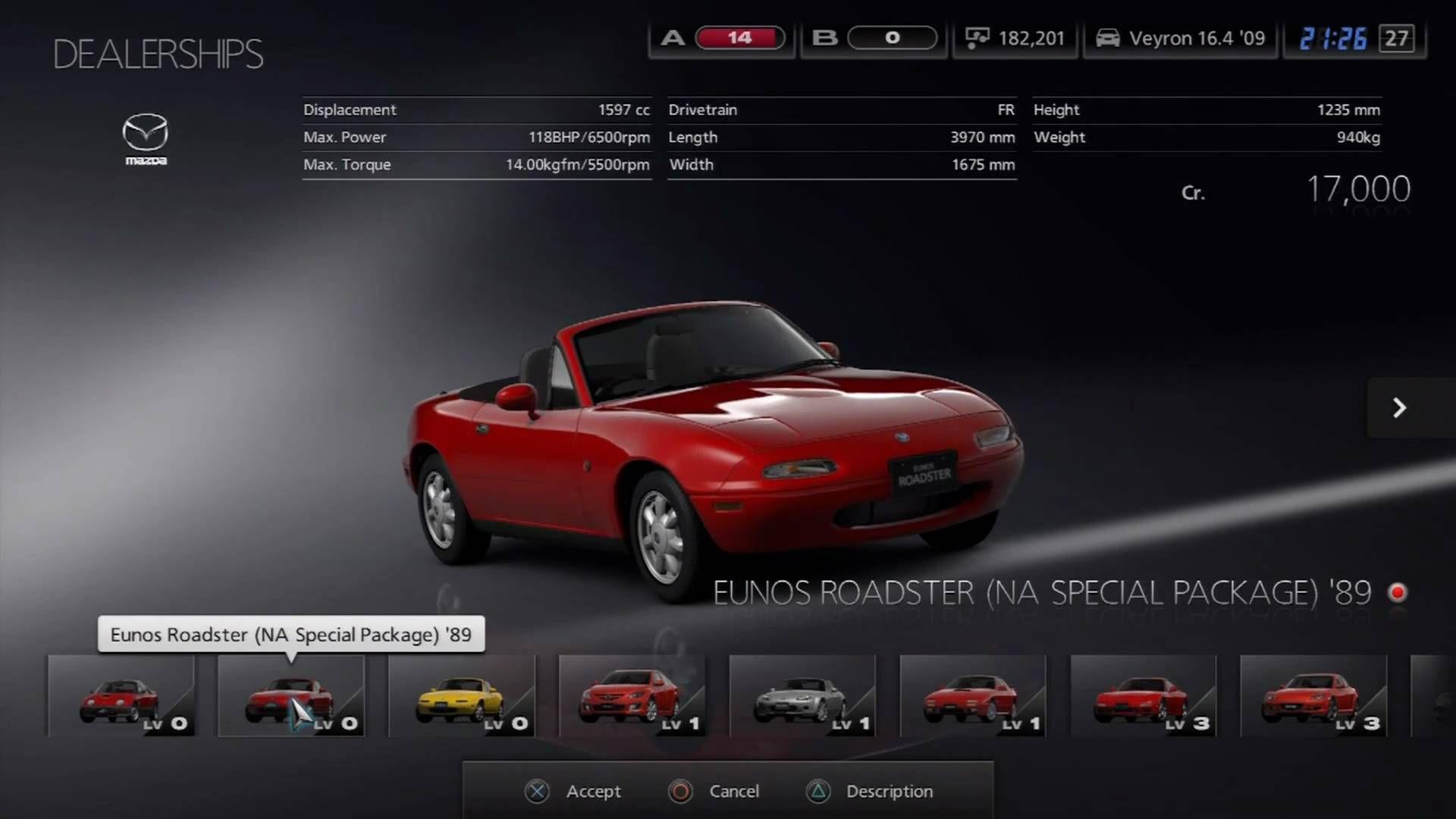 Car selection interface Bugatti veyron 16, Bugatti