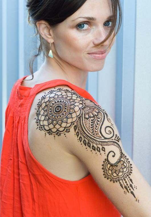 Full Body Henna Tattoo: ヘナタトゥー, ヘナアート, メヘンディ