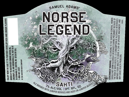 Samuel Adams Norse Legend   (1 pint 6 oz)