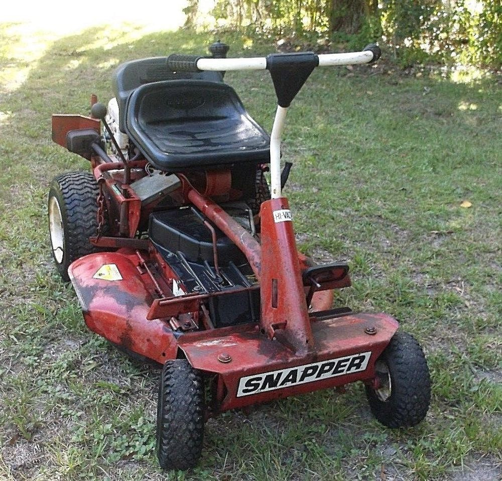 how to start old lawn mower