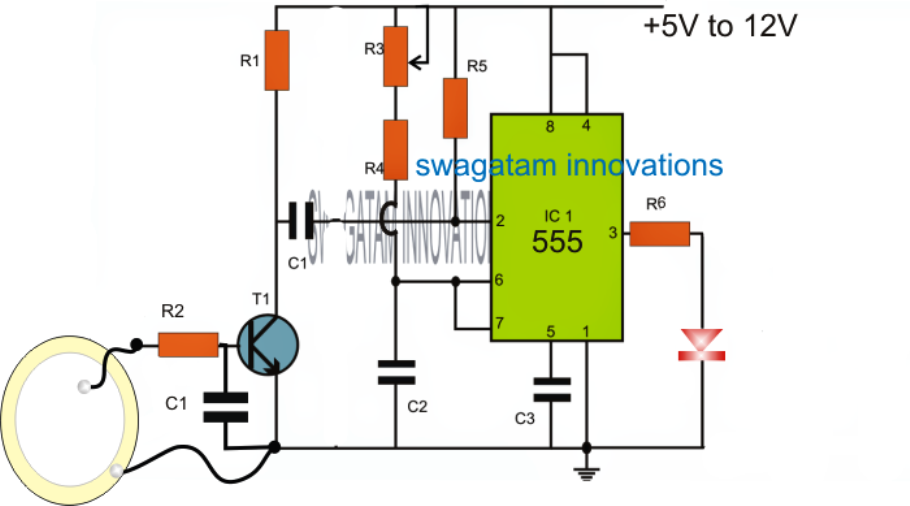 Intruder Position Indicator Security Circuit Circuit Projects