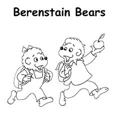 Top 25 Free Printable Berenstain Bears Coloring Pages Online Bear Coloring Pages Berenstain Bears Berenstain Bears Party