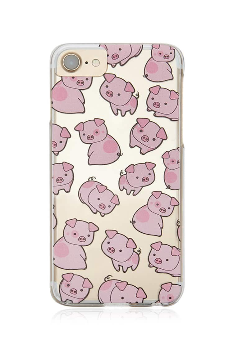 Product Name:Pig Graphic Case for iPhone 6/6s/7/8, Category
