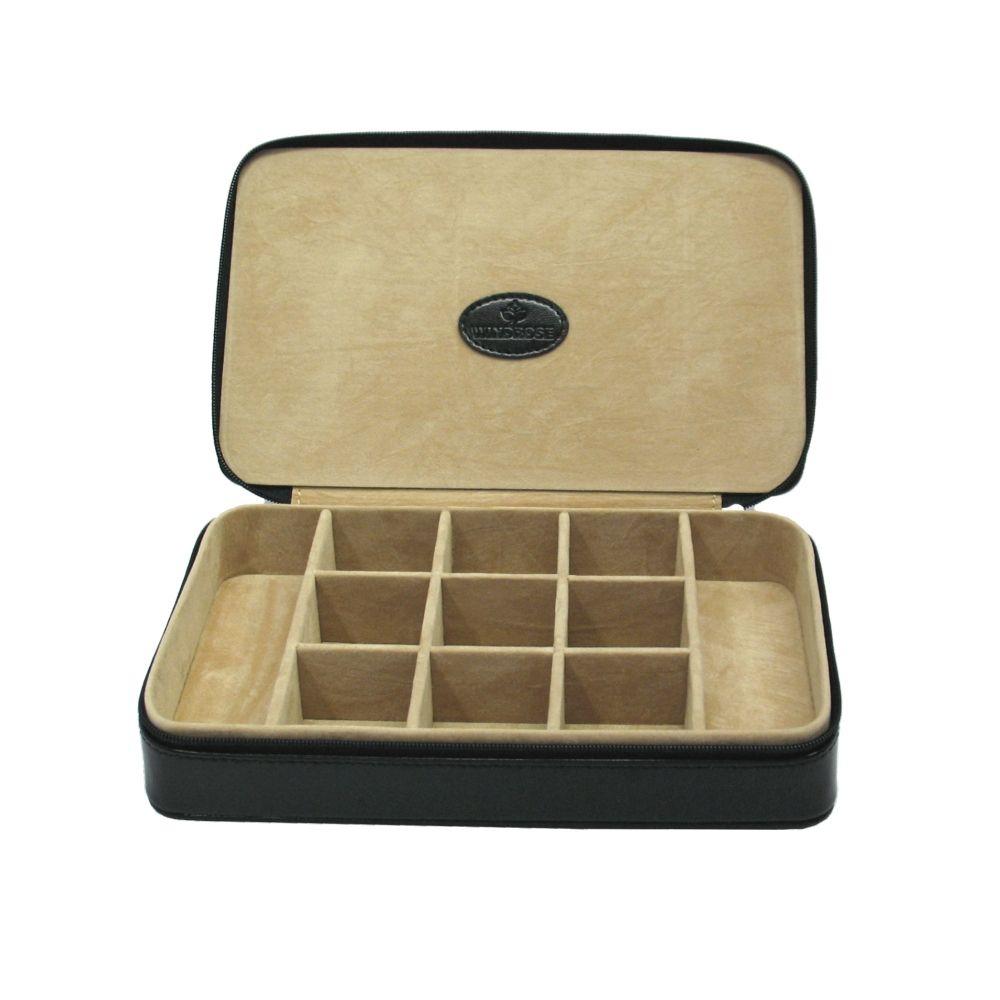 Windrose Merino Charmbox für die Reise schwarz jetzt