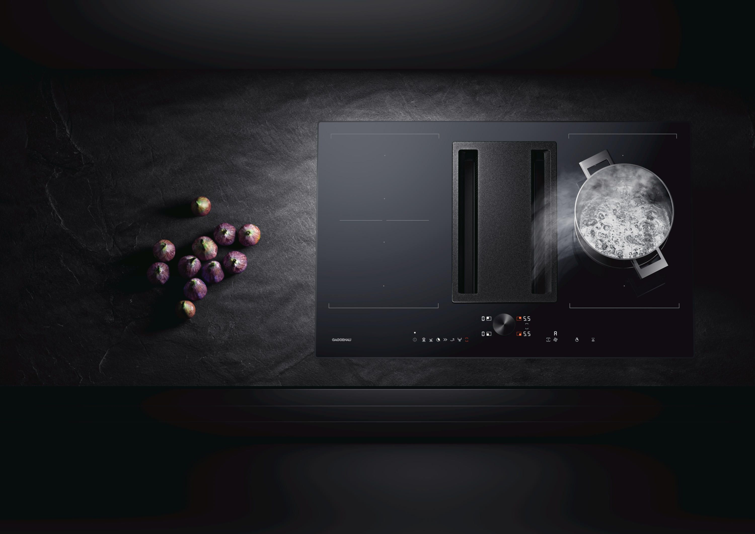 Flex Induction Cooktop With Integrated