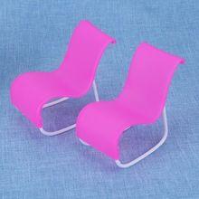 2 stücke Schaukel Strand Sessel Wohnzimmer Gardan Möbel für Barbie ...