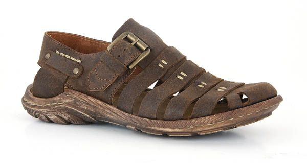 610d0765b8756 Josef Seibel Logan 04 Men's Bourbon Sandal available from Coastal Soles  clothing and shoes online store