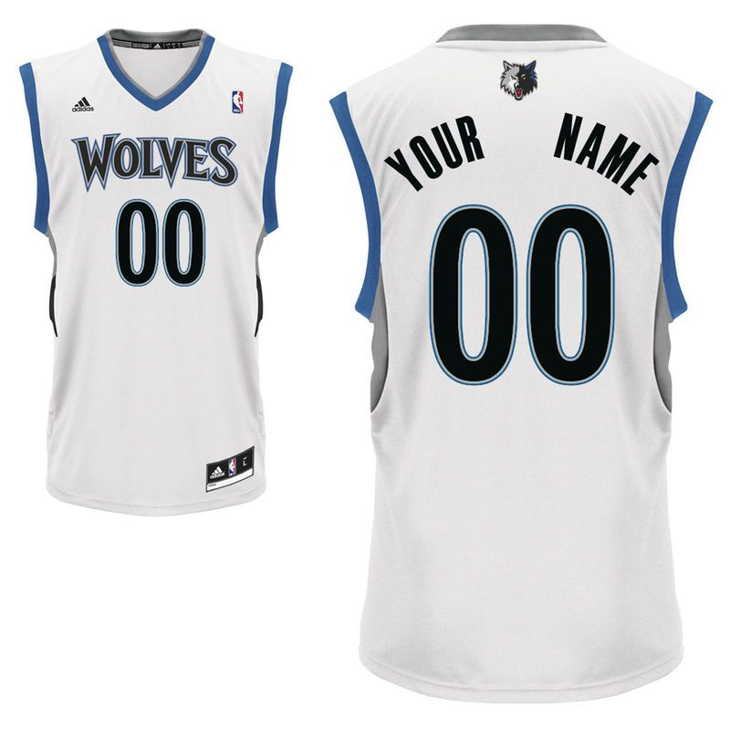adidas Minnesota Timberwolves Youth Custom Replica Home Jersey ... e8d67d2ec