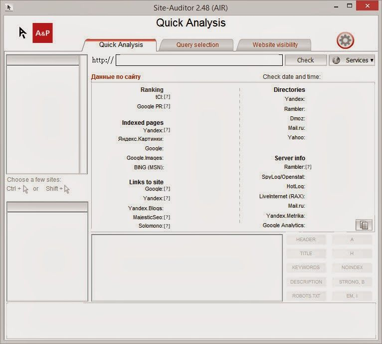 Download free ubots: Site Auditor - Analyze your site and