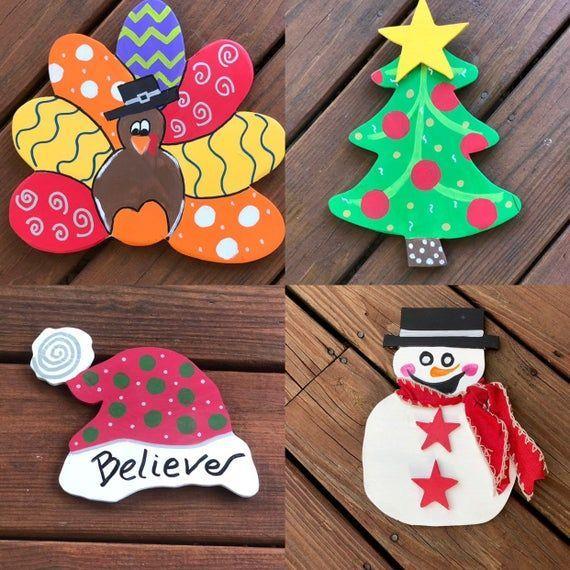 Photo of Seasonal Decorations for Interchangeable Door Hanger – Year Round Decoration – R…