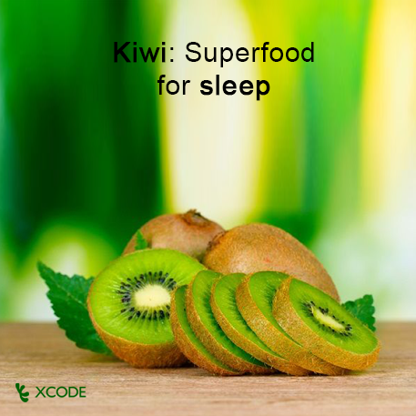 Kiwi: Superfood for sleep  Loaded with Vitamin C, kiwi has potent antioxidant properties, which help boost immune system function and enhance cell protection and repair. Studies point to the high-fiber, potassium-rich kiwi as a possible aid to heart health and to respiratory function.  Read more here ➨ http://huff.to/1fRKugd