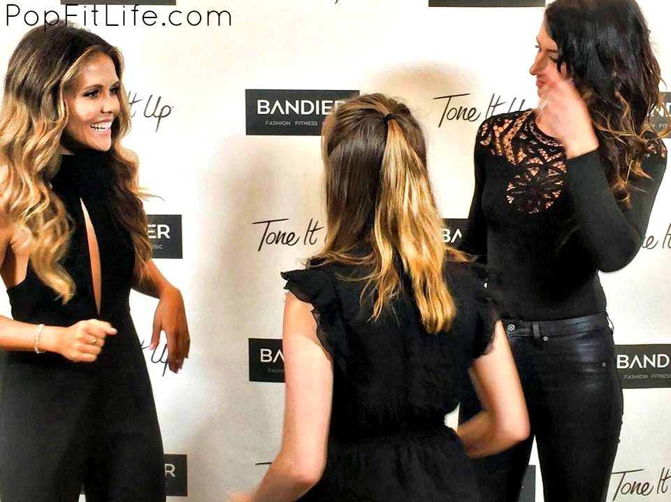 27a4d534256b0 The launch of Tone It Up s TIU x Bandier clothing line in NYC ...