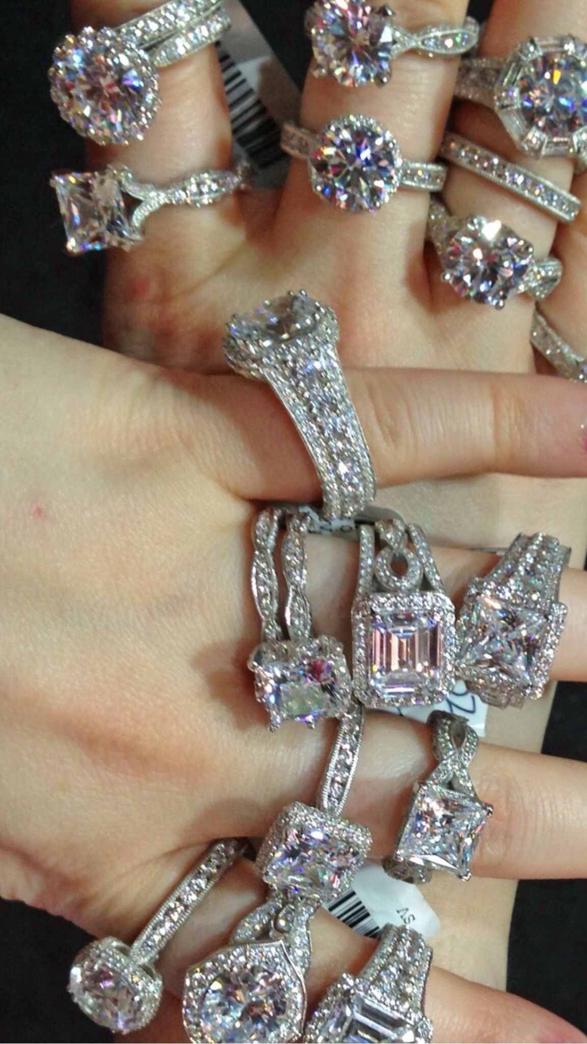 Tacori trunk show at Mervis Diamonds Ring Bling and Diamond