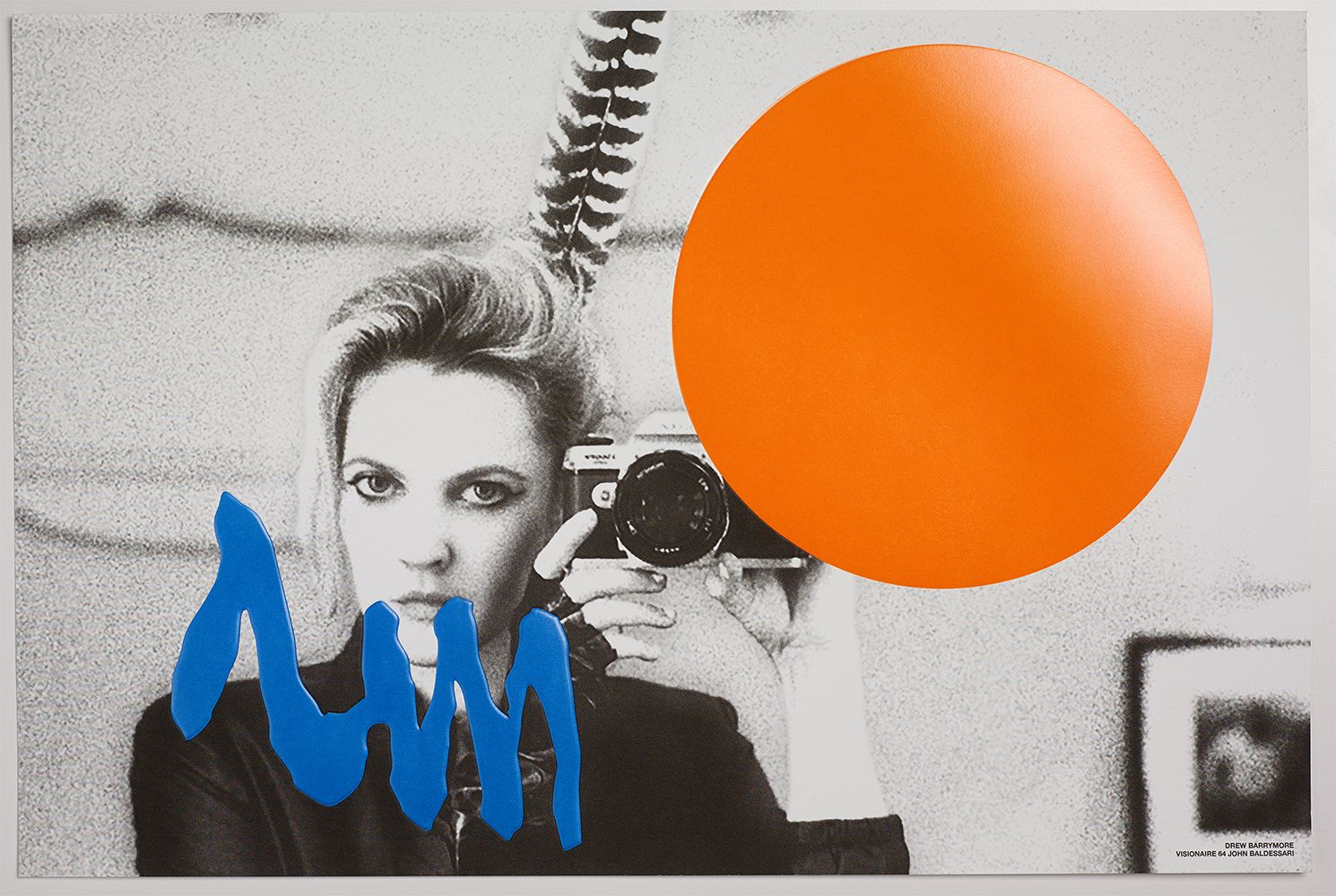 Visionaire and John Baldessari recast the selfie as the artwork of the moment. See more images from the issue and extras from Visionaire co-founder Cecilia Dean on vf.com