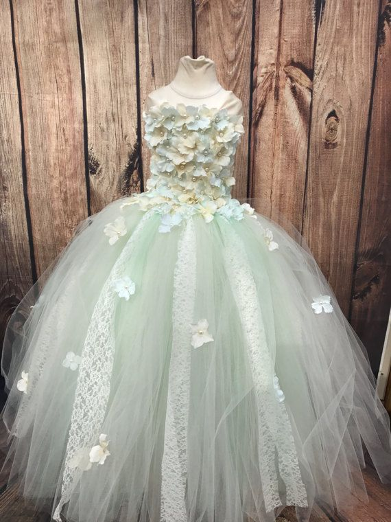 Mint and Ivory Dresses for Juniors
