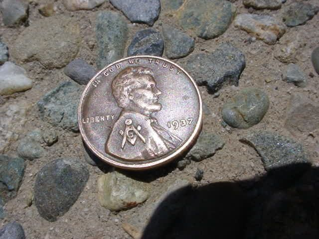 Masonic Symbol On The 1937 Penny Coin Collecting Pinterest