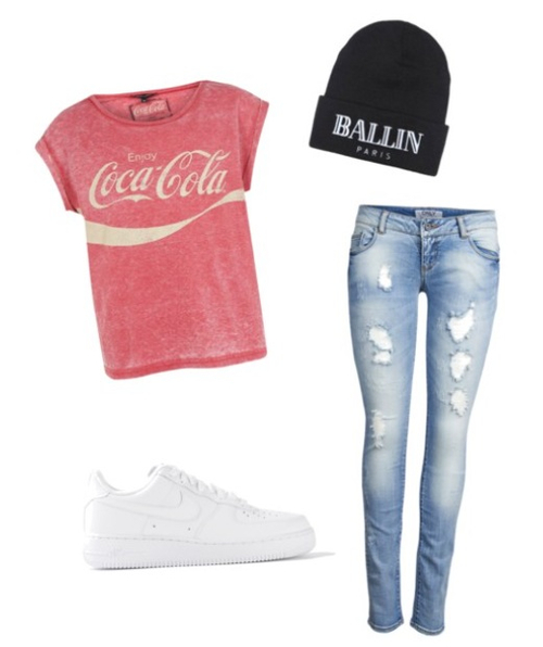 Cola Force Coca Outfits Outfitcoca Colanike Air Af1Cute 1TJcKFl