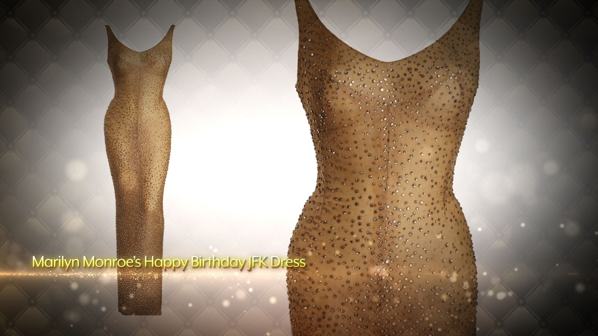 Looks - Monroe Marilyn dress auction pictures video