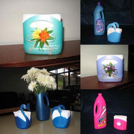 Ideas para reciclar garrafas o bidones de pl stico ideas - Ideas para reciclar ...