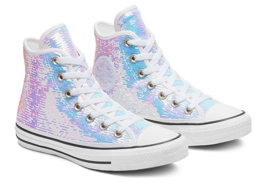converse all star femme paillettes
