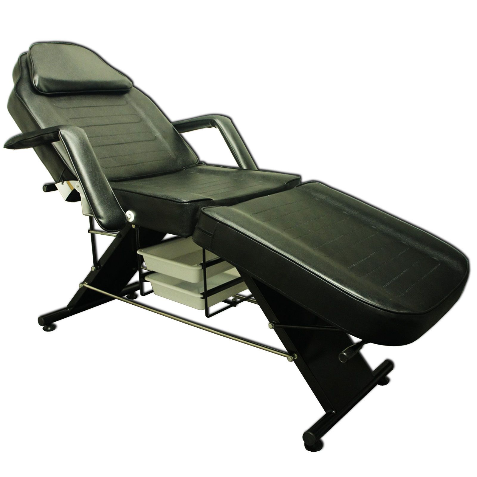 Salon SPA Black Dental Reiki Massage Bed Tattoo Chair