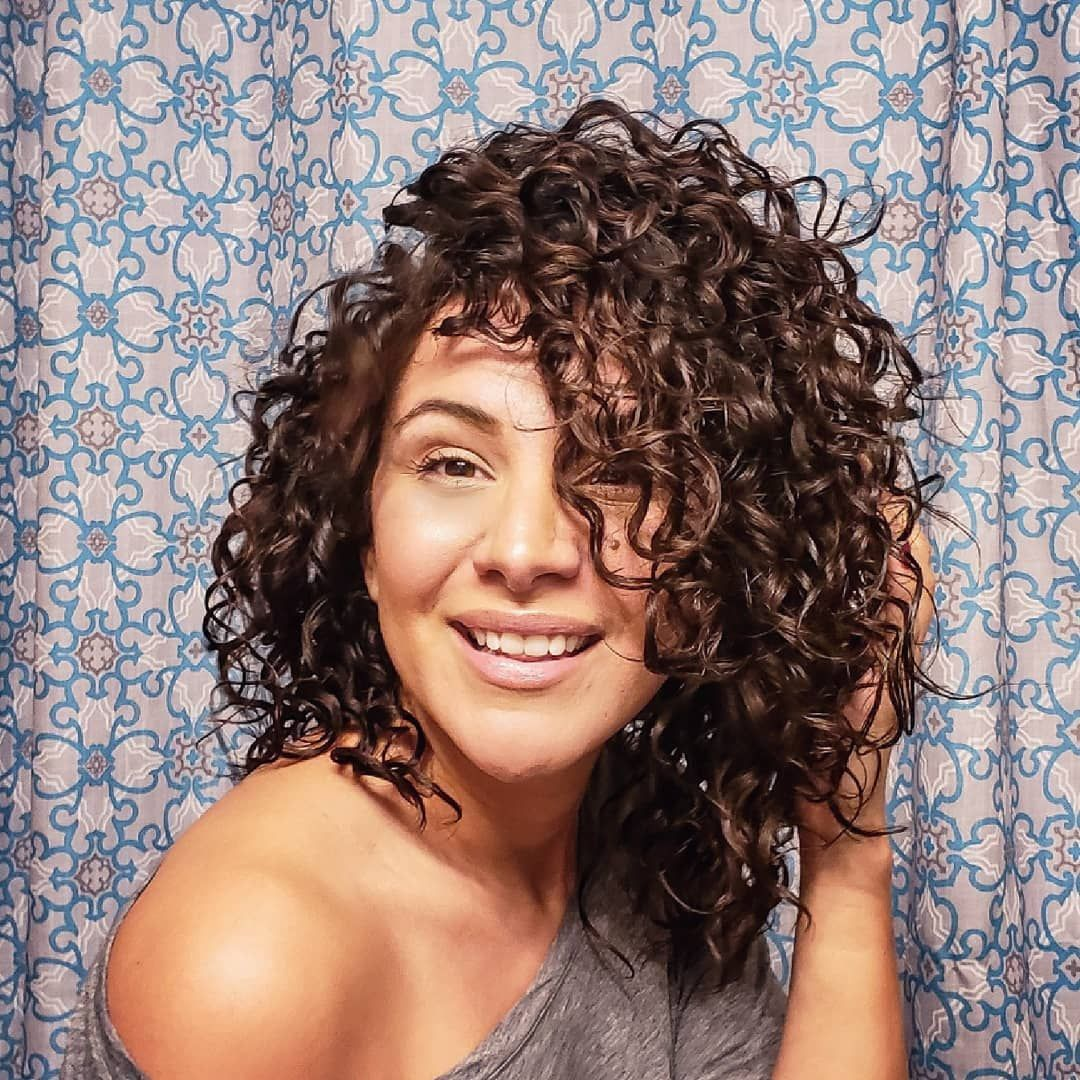 Curly Girl Haircut Idea Curly Hair Styles Naturally Curly Girl