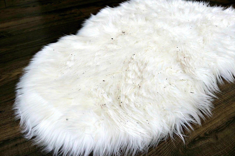 How to Clean a Faux Sheepskin Rug Faux sheepskin rug
