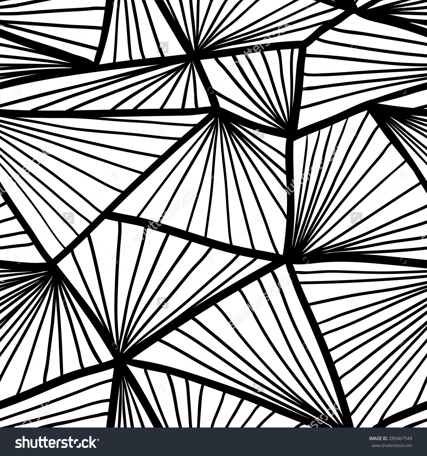 Seamless Pattern With Geometric Shapes, Textured Background For ... for Geometric Shapes Design Black And White  300lyp