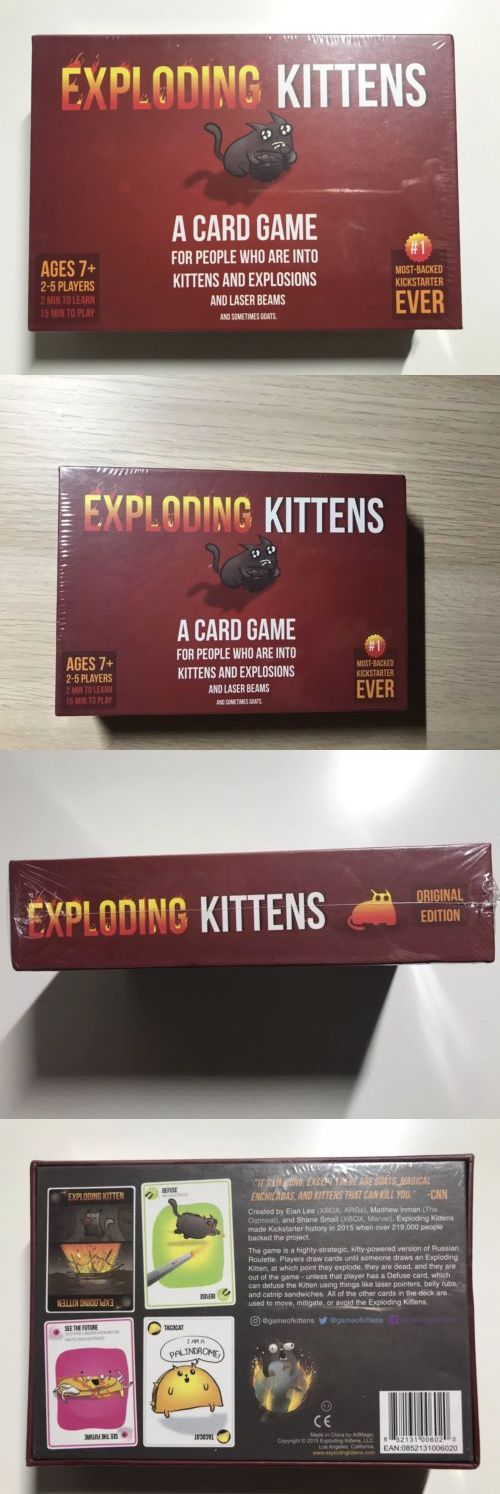 Other Card Games And Poker 2552 2019 Kids Exploding Kittens