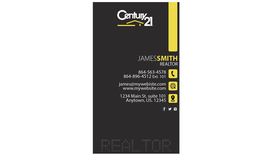 Century 21 business cards rsd c21 125 business cards pinterest century 21 business cards 25 century 21 business card template 25 century 21 agent fbccfo Image collections