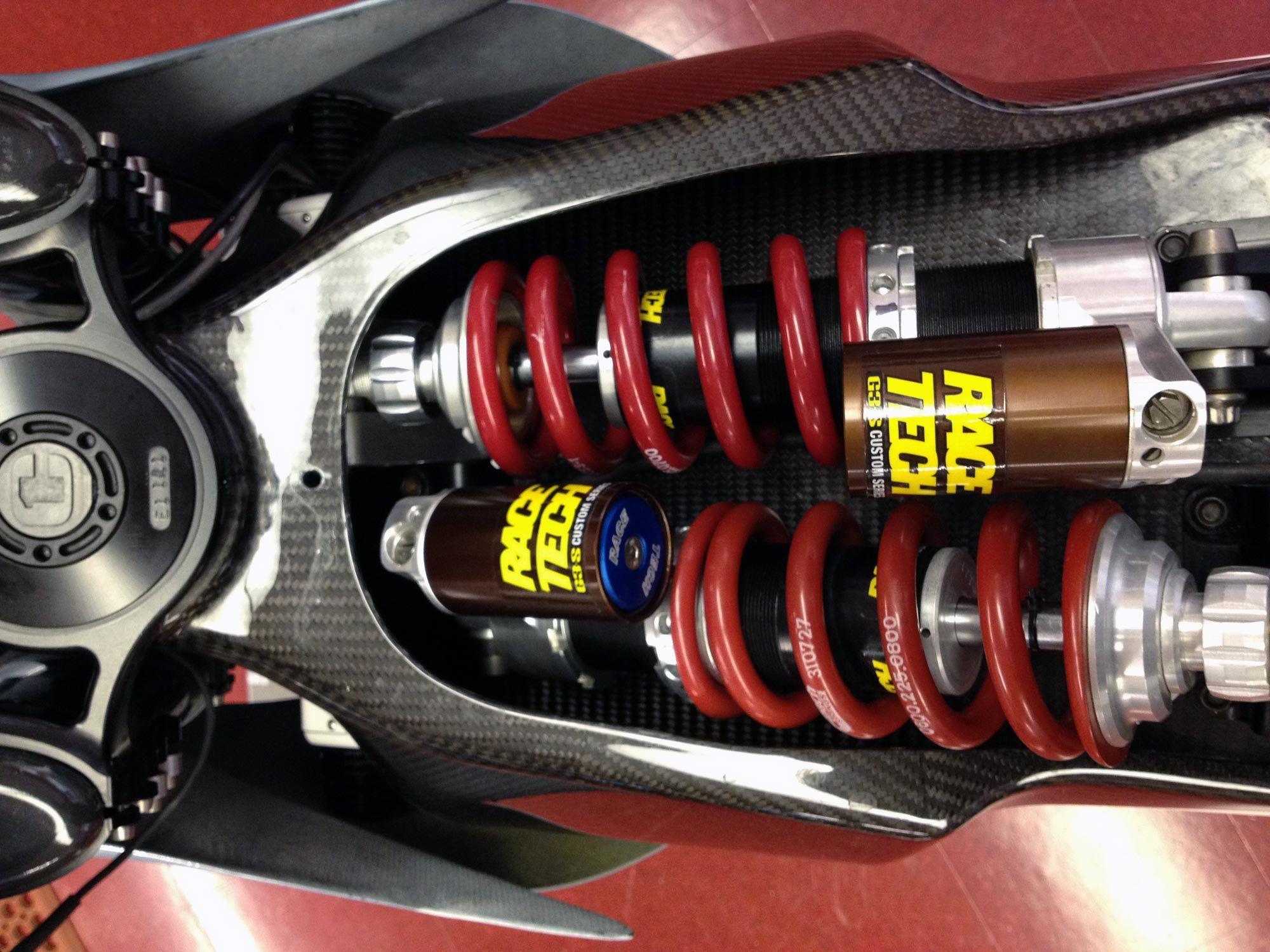 Motorcycle Rear Suspension Design