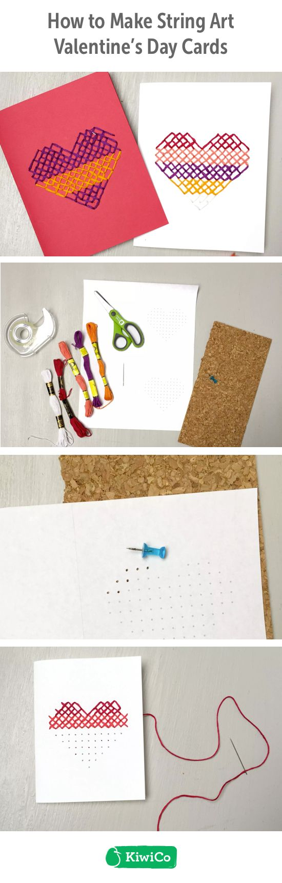 String art valentine diy this do it yourself paper craft is great string art valentine diy this do it yourself paper craft is great for valentines day for all ages explore sewing to make unique designs on each solutioingenieria Gallery
