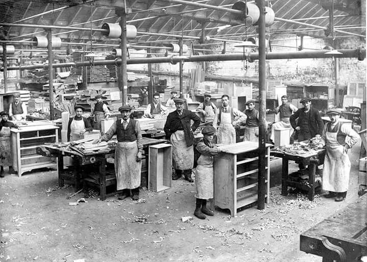 William Morris Furniture Makers Cowcaddens Furniture Shop