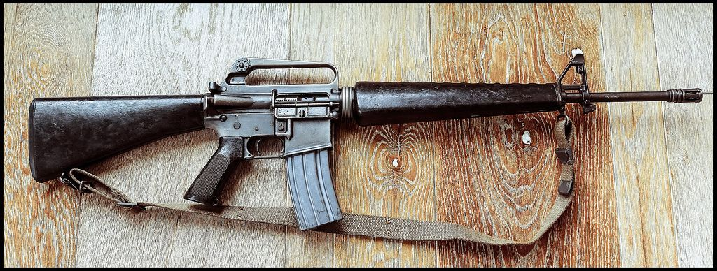 The Classic M16 used in the VIetnam War. Which we didnt lose | Guns ...