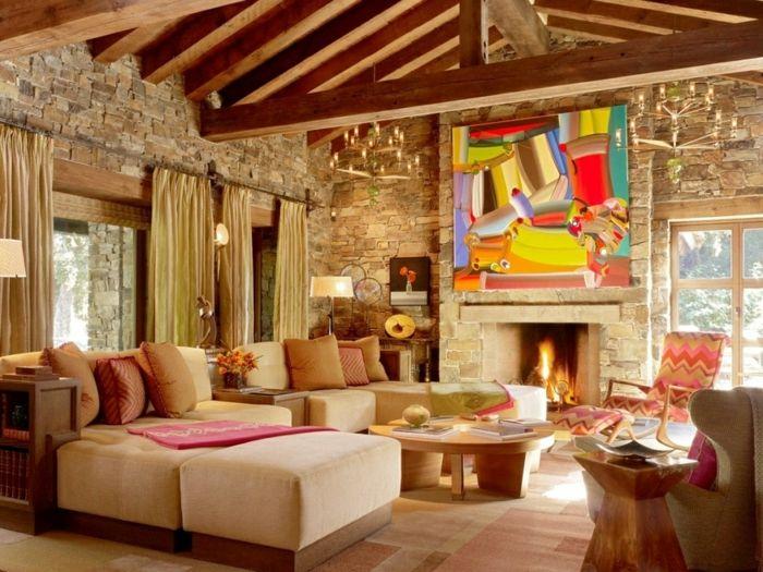 Wohnzimmer Rustikal ~ Traum wohnzimmer rustikal proben luxus haus dekoration luxus