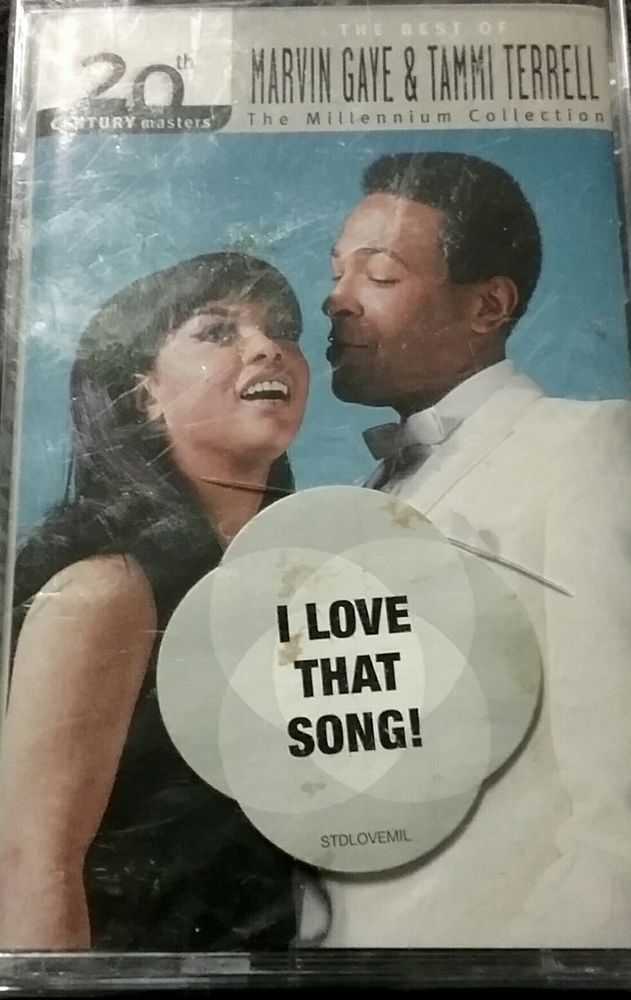 The Best Of Marvingaye Tammyterrell Cassette Tape Nwt 20th
