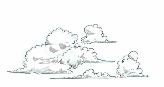 Pin By Ymppa On Clouds Cloud Drawing Drawings Cartoon Clouds