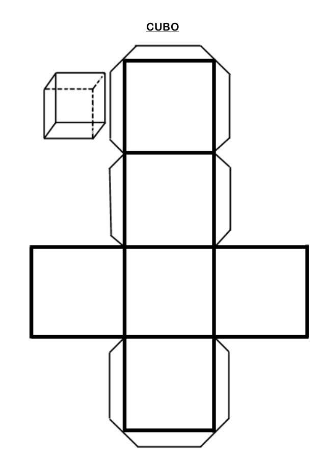 Plantillas cuerpos geom tricos geometr a pinterest for Sillas para armar y recortar