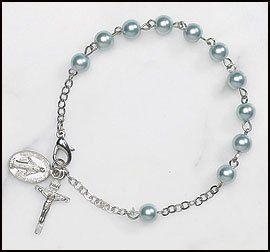 Womens Blue Imitation Pearl Rosary Bracelet Value Line,http://www.amazon.com/dp/B008B1CY4A/ref=cm_sw_r_pi_dp_V0HOsb0E7EPS2P9V