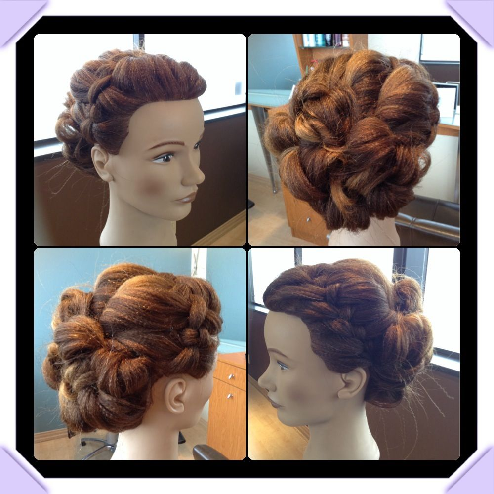 Hairstyle For Prom Upstyle Or Bridal Upstyle Using The New