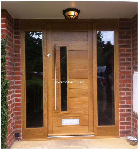 Side Panels For Corinthian Door Oak Contemporary Front Doors Front Doors Uk Wooden Front Doors