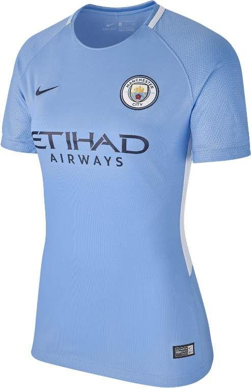 2017/18 Manchester City FC Stadium Home Women's Football Shirt