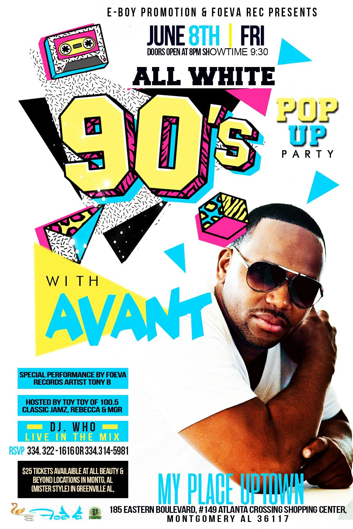 LIMITED AVANT TICKETS LEFT AT BEAUTY &BEYOND IN MONTG, AL