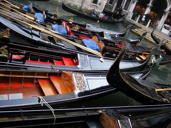 My Travels: Venice Gondolas in Venice and a sprinkle of Paris by Sarah Grosh